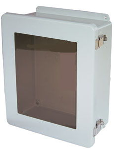Large NEMA-Rated Wireless Wall-Mount Enclosure With Window